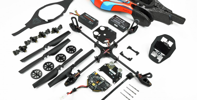 Parrot AR.Drone gets grounded in new teardown