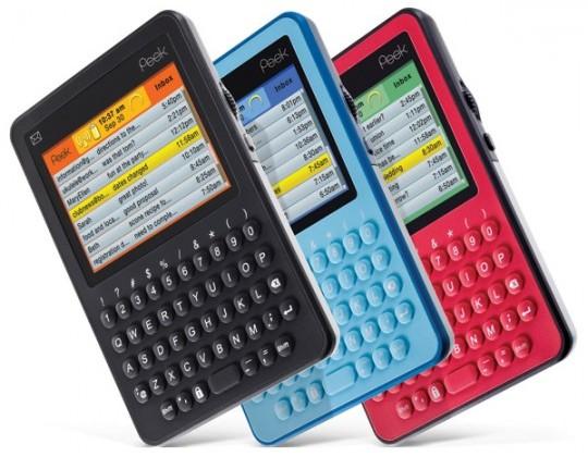Peek-powered phones, PMPs & digital photo frames in licensing future