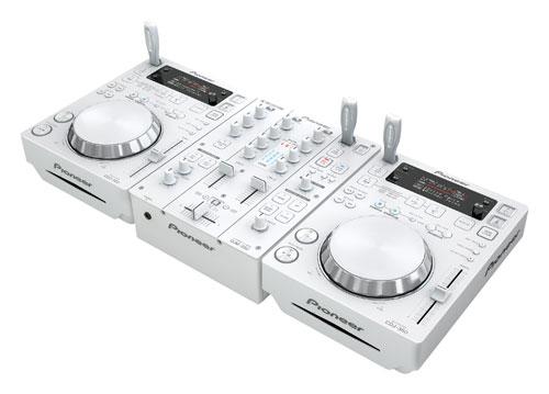 Pioneer offers new white CDJ-350 and DJM-350 DJ gear