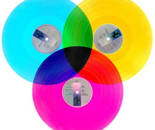 DJ creates CMYK vinyl records