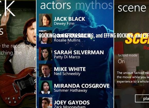 Windows Phone 7 Gets Silverlight Enhanced Movie Apps from Paramount Digital Entertainment