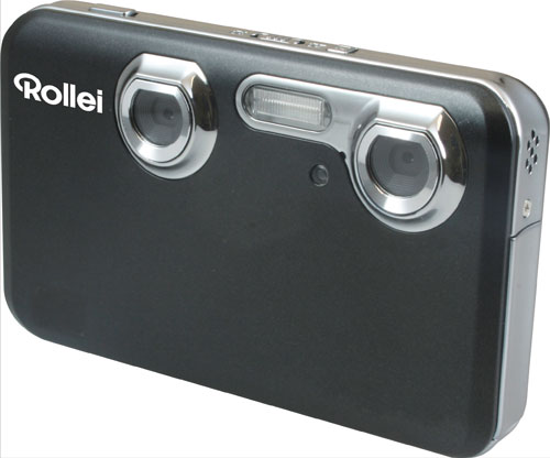 Rollei unveils slick 3D camera and 3D digital frame