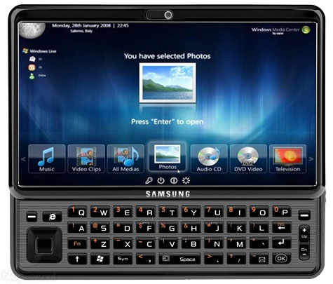 Samsung Gloria 10-inch Windows 7 tablet with sliding QWERTY due early 2011?
