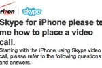 Verizon iPhone Skype Mobile app tipped for WiFi/3G video calling; iPad Skype imminent?