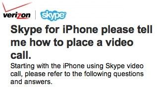 Verizon iPhone Skype Mobile app tipped for WiFi/3G video calling; iPad Skype imminent?