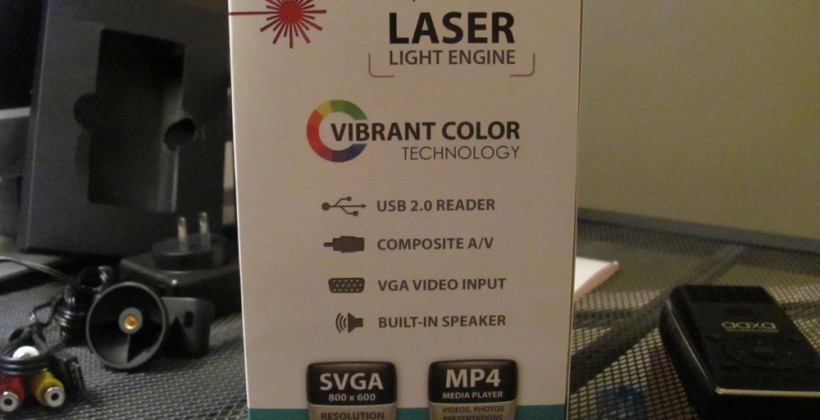 A Week With the L1 v2 Laser Pico Projector : Hands-on and Unboxing