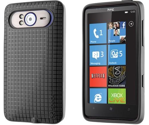 Speck offers new PixelSkin HD case for HTC HD7 smartphone