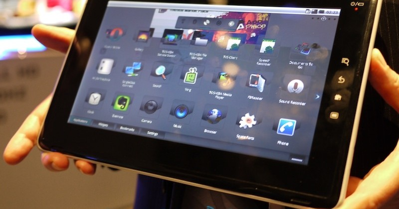 Toshiba readying Windows 7, Chrome OS and Android tablets for CES 2011?