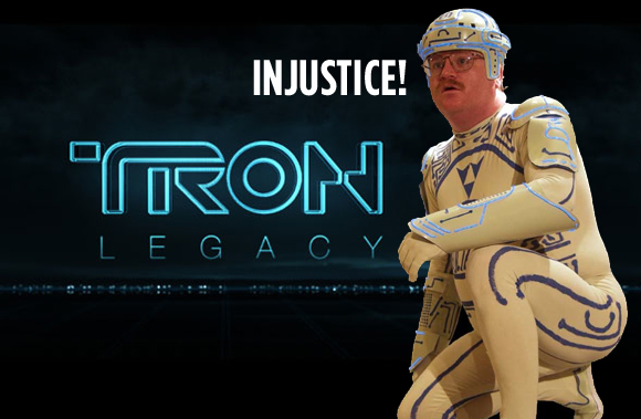 Tron Guy Banned from Seeing Tron in his Tron Suit