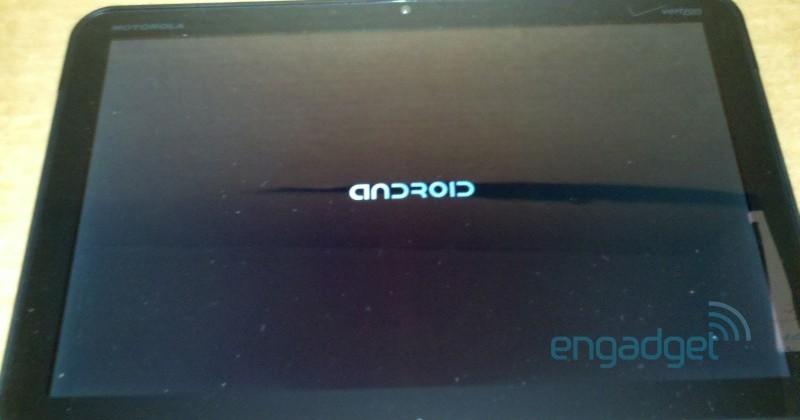 Verizon's Motorola Android Honeycomb tablet leaks
