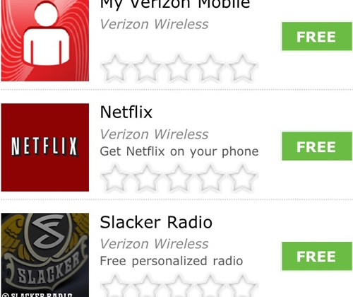 Verizon WP7 apps appear in Marketplace; launch imminent?