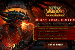 World of Warcraft: Cataclysm 10-Day Free Trial Released