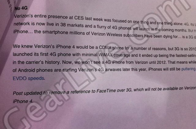 Best Buy Shying Away from the Verizon iPhone 4?