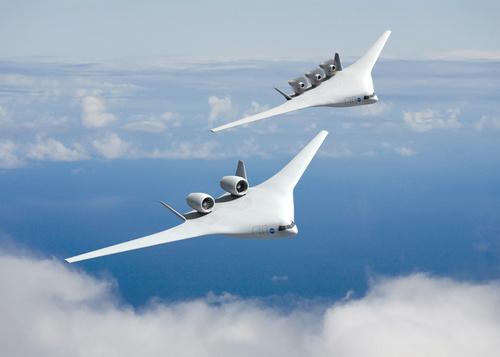 NASA Showcases Airplane Designs for 2025