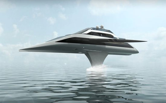 Yacht Concept Shows That Huge Boats Can Fly [Video]