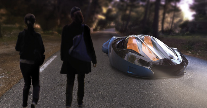 Chase 2053 Concept Car Features Hydrogen Engines