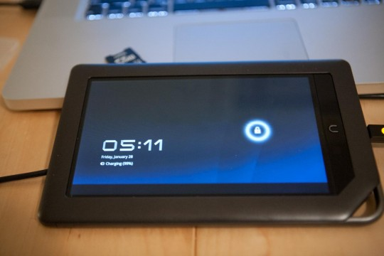 NookColor gets Android 3.0 Honeycomb