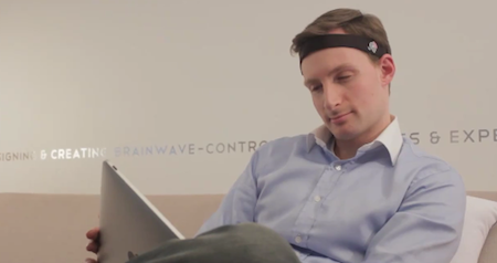 InteraXon Demonstrates Controlling an iPad with Your Thoughts [Video]