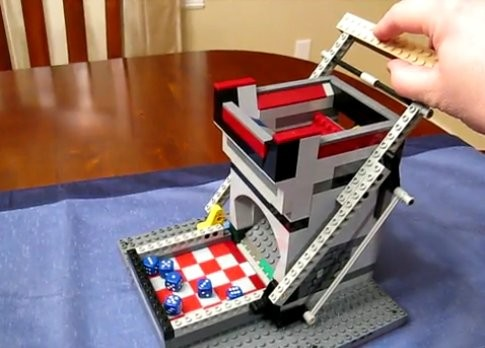 LEGO Dice Roller will Decide Your Fate for You [Video]