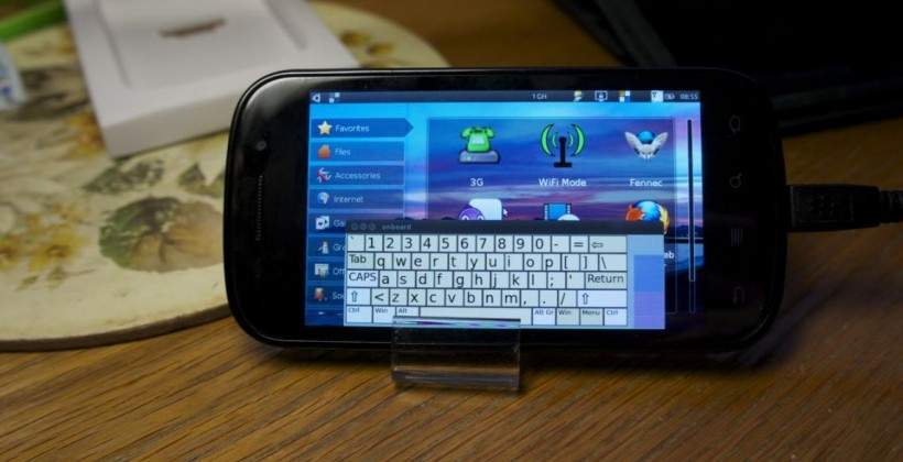 Nexus S Boots Ubuntu