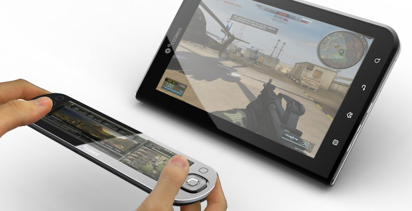 OCOSMOS OSC1 TC and OSC9 get official: tiny Oak Trail gaming tablets