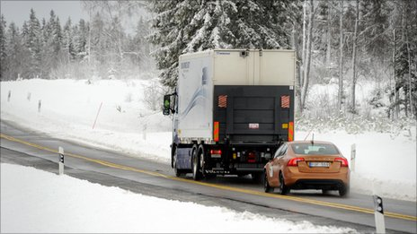Road Train Technology Undergoes First Real World Testing, Proves Successful