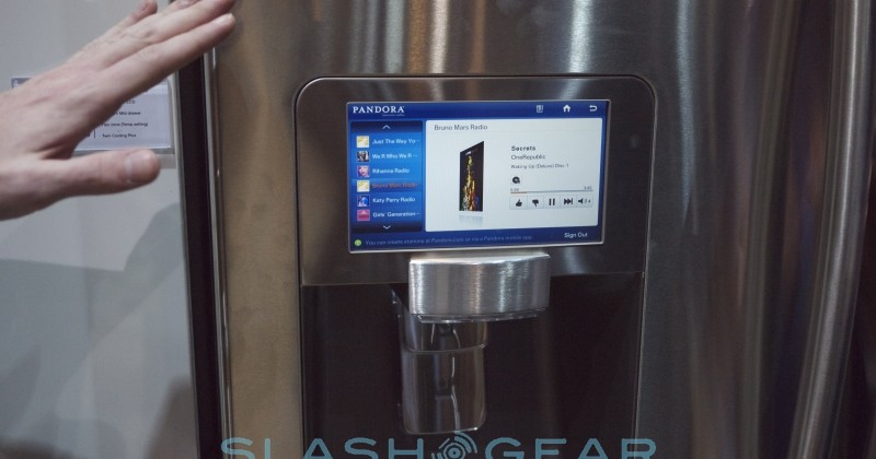 Samsung's RF4289 Internet Connected Refrigerator Hands-On