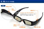 Sanwa Universal 3D Glasses Work on 3D TVs from Japan Only