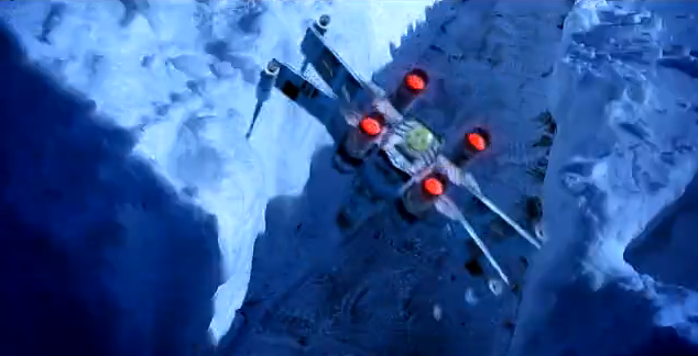 The Greatest 17 Seconds You'll Ever Star Wars in the Snow