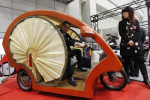 Electronic Eco-Friendly Rickshaw Designed by Japan Firm