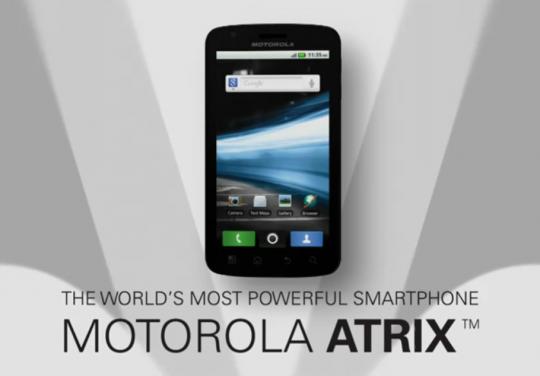 Motorola Atrix 4G Promo Video Released