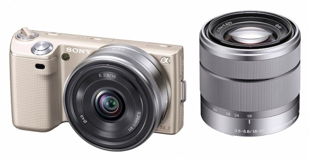 Sony NEX-5 Gold Edition Digital Camera Announced for Japan, Lands February 10th