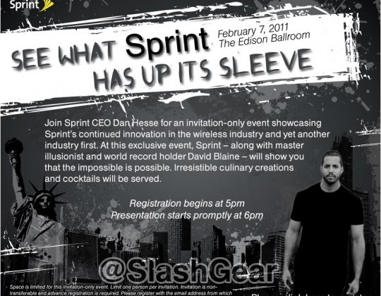 Sprint Announcement Coming February 7th, Promises Another Industry First