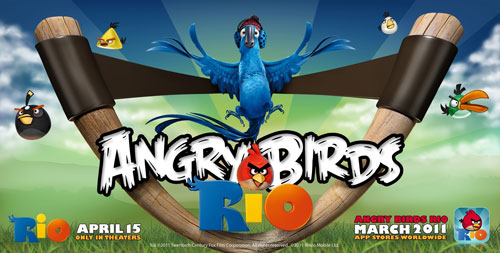 Angry Birds Rio Coming to smartphones and tablets in March