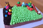 Another Angry Birds cake. Eat it or destroy it out of frustration?
