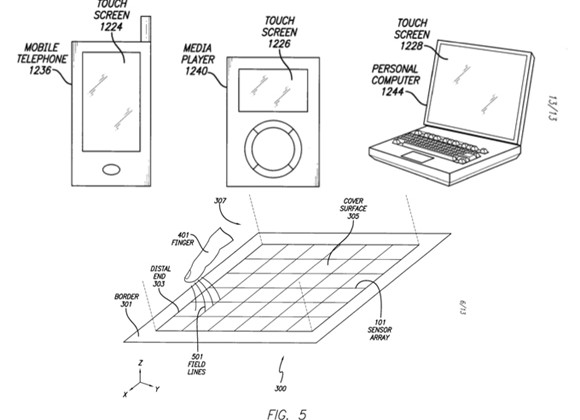 Apple Patent Application Suggests Hover Sensing