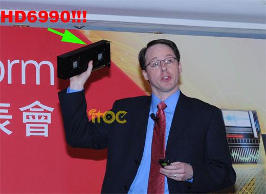AMD Radeon HD 6990 gets premature preview