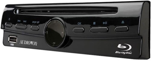 Audiovox launches first Blu-ray player for cars at CES