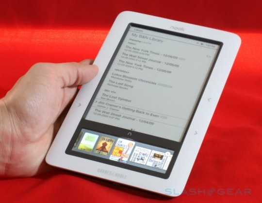 Barnes & Noble NOOK 3G reportedly discontinued