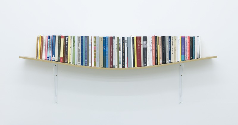 Daniel Eatock Teaches the World to Compensate with a Cheap Bookshelf