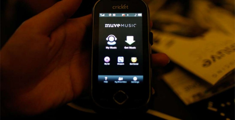 Cricket Muve Music Allows for Unlimited Song Downloads for $55 Per Month
