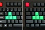 Das keyboard mechanical keyboard gets colored keys tops for gamers