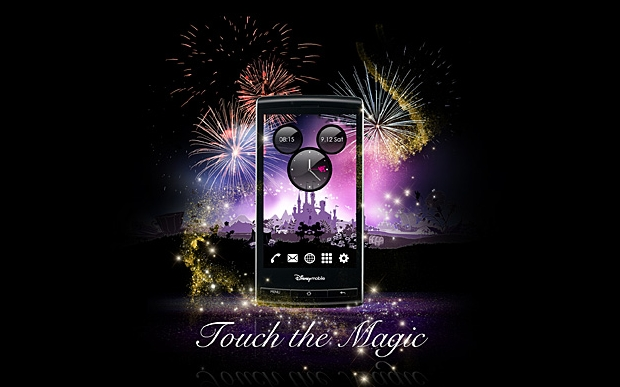 """""""Touch the Magic"""" as Disney launches its own Android phone"""