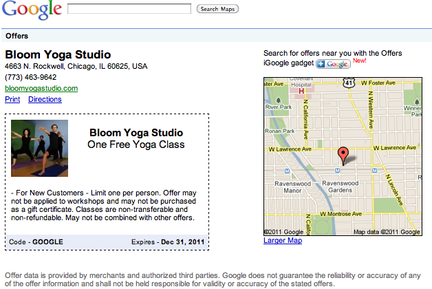 google-offers-yoga