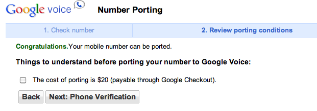 """Google Voice mobile number porting trialled ahead of """"near future"""" full launch"""