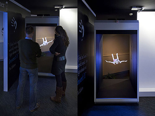 Holocube gets human sized and much, much creepier