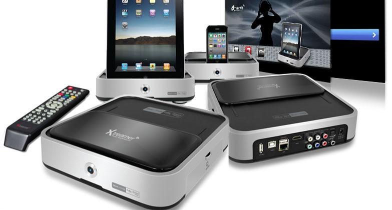 iXtreamer goes on sale: iPad dock, HDD streamer & 1080p 7.1ch