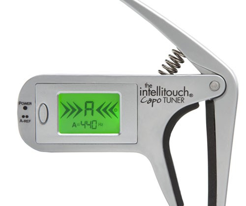 OnBoard Research Intellitouch Capo tuner for guitars unveiled