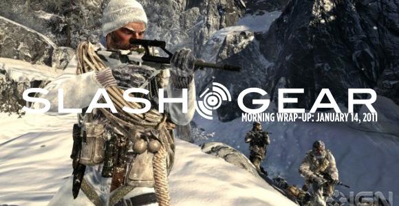 SlashGear Morning Wrap-Up: January 14 2011