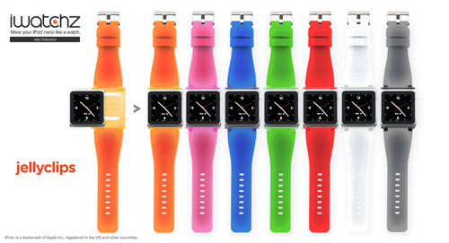 iWatchz shows off new Carbon and Jelly nano watchbands